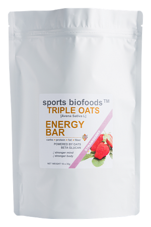 TRIPLE OATS ENERGY BAR STRAWBERRY